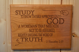 Bible Verse Plaque
