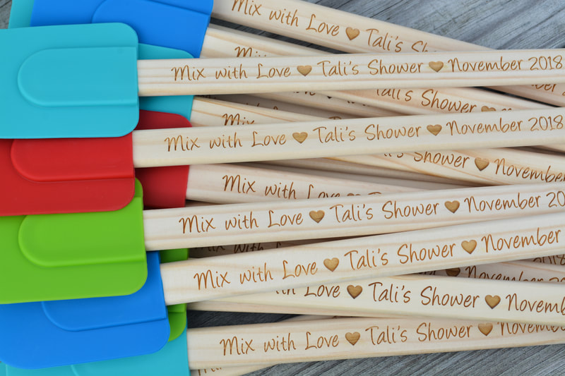 Personalized Spatulas - New Colors!