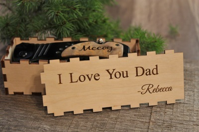 Personalized Knife with Gift Box
