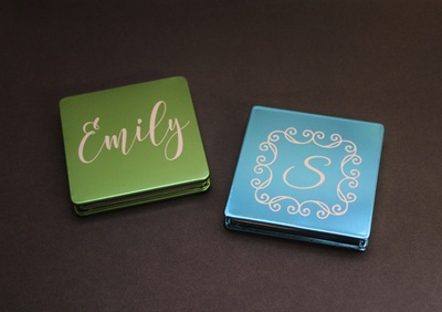 Personalized Pocket Mirrors